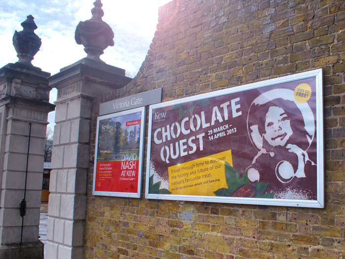 Kew_Chocolate_Quest_gate_poster_