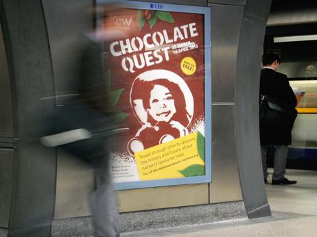 Kew_Chocolate_Quest_poster_London_Bridge