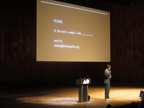 Keynote speaker Stefan Sagmeister