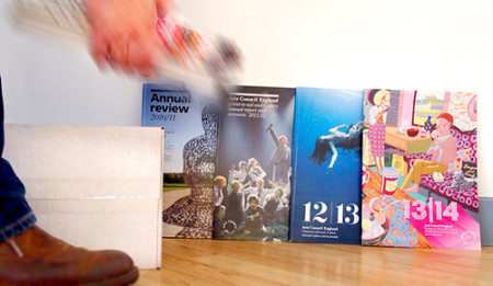 Our Annual Reports for Arts Council England