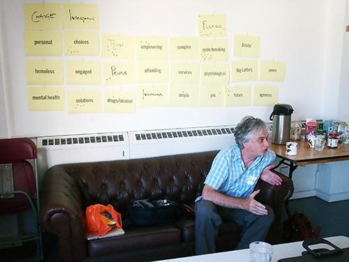 Workshop in Bristol.