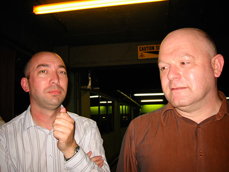 Michael Smith and Martin Pople