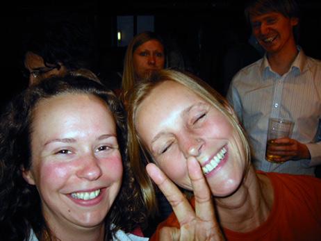 Rebekah Deboo and Elke Leinwand