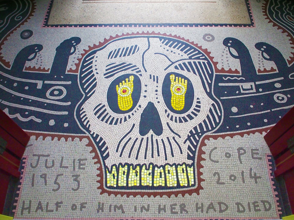 A-House-For-Essex_skull_mosaic