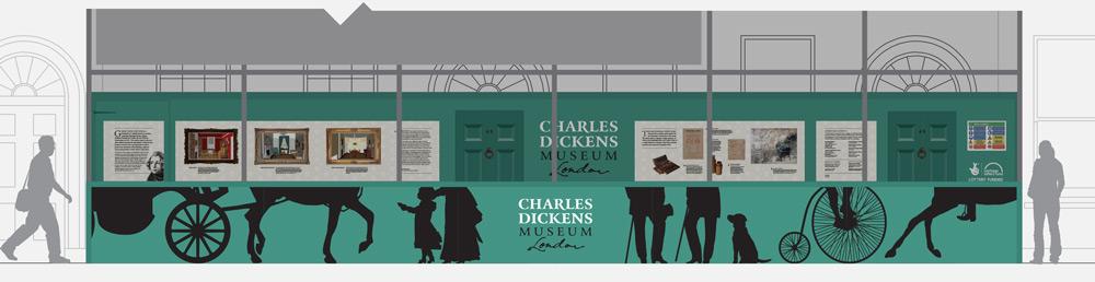 Dickens_Museum_hoardings