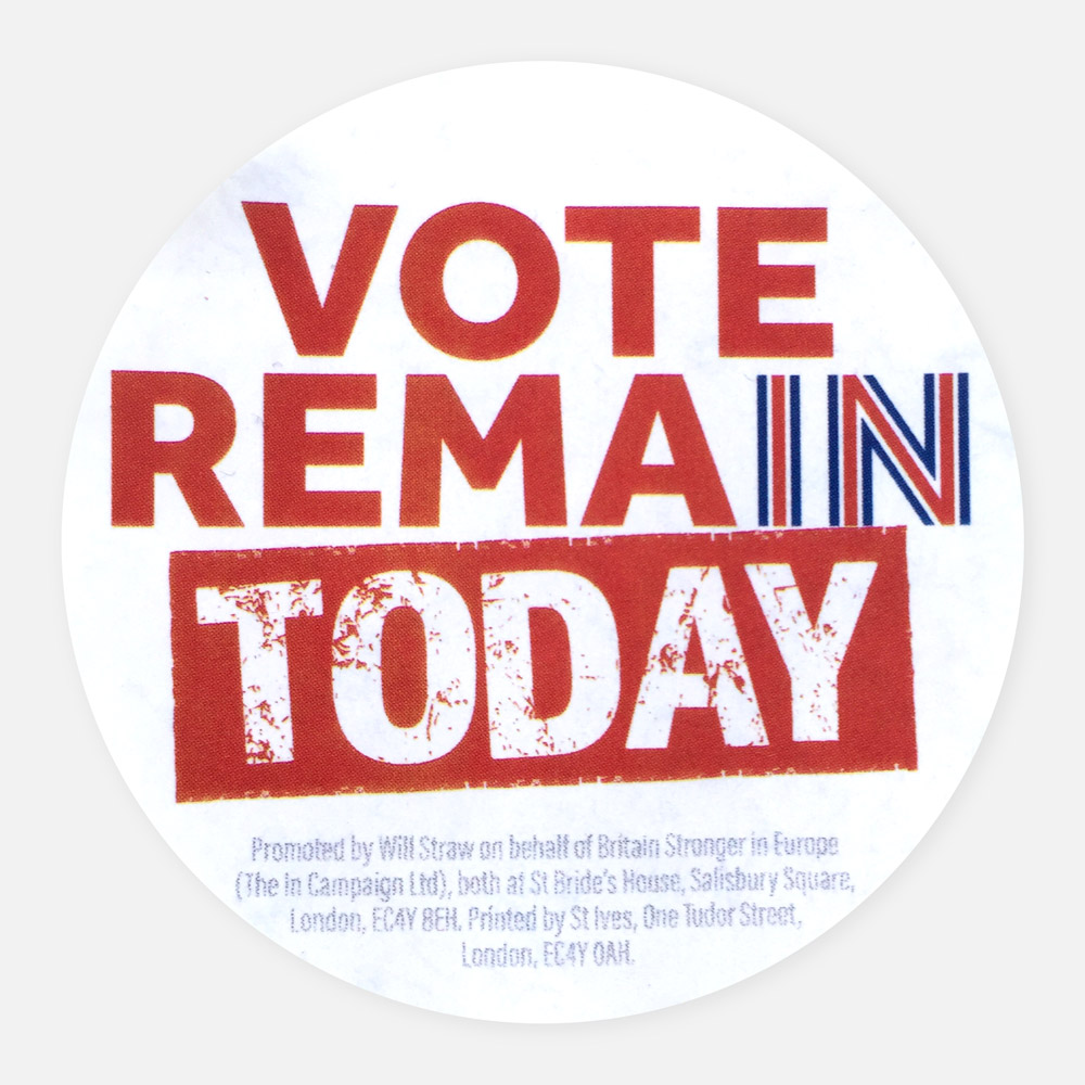 Remain_today_sticker