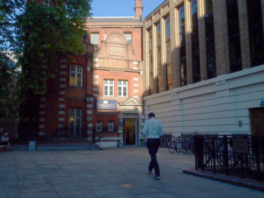 St Bride Foundation, venue for Simon Esterson's Typo talk