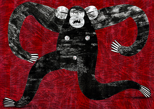 February: Monkey See, Monkey Do by Hattie Clark