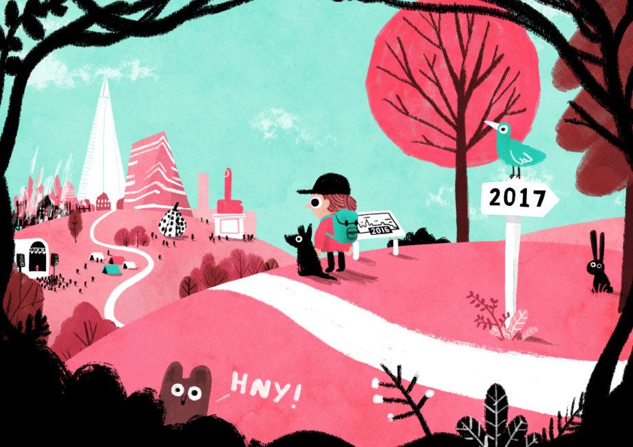 January: New Year by John Bond