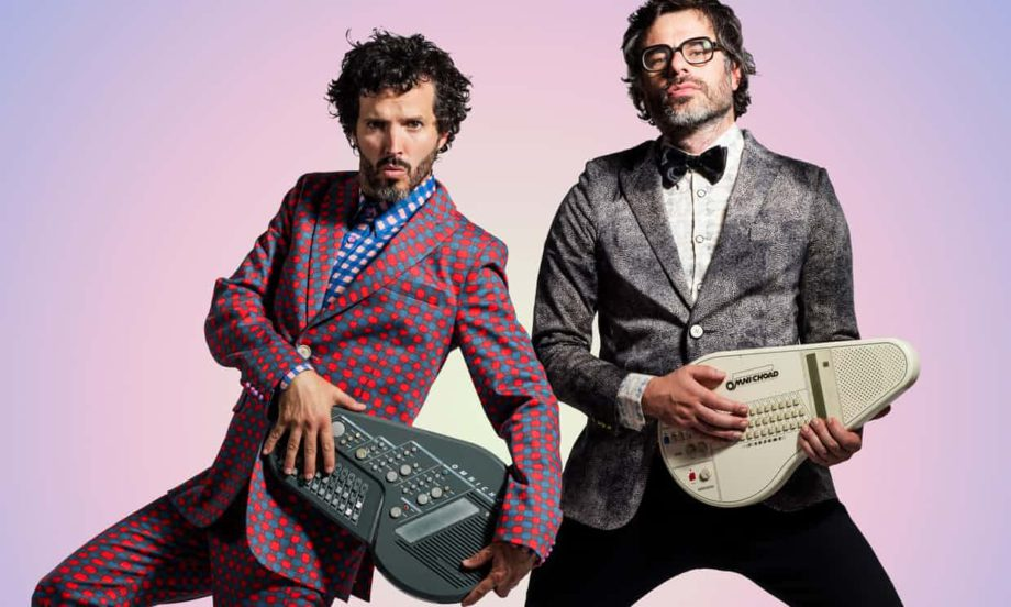 Flight of the Conchords. Photograph: Matt Grace